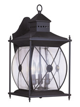Livex Lighting 2093-07 - 3 Light Bronze Outdoor Wall Lantern