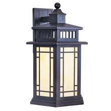 Livex Lighting 2396-07 - 1 Light Bronze Outdoor Wall Lantern