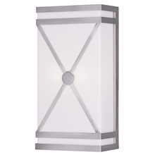 Livex Lighting 9415-91 - 2 Light Brushed Nickel Wall Sconce