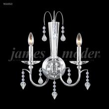 James R Moder 96162S22 - Medallion 2 Arm Wall Sconce