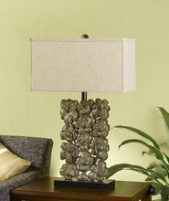CAL Lighting BO-2042 - 150W 3 WAY RESIN FLORAL TB LAMP