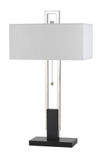 CAL Lighting BO-2579TB - 60W X 2 FOGGIA METAL TABLE LAMP