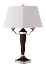 CAL Lighting BO-694 - 60W X 2 RESIN/METAL DESK/TB LAMP