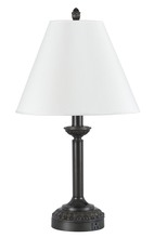 CAL Lighting LA-60002TB-2R - 60W X 2 HOTEL TABLE LAMP