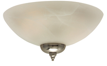 Craftmade LK215-NRG - 2 Light Bowl Fan Light Kit with Alabaster Glass