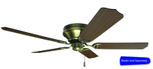"Craftmade PFC52AB - Pro Contemporary Flushmount 52"" Ceiling Fan in Antique Brass (Blades Sold Separately)"