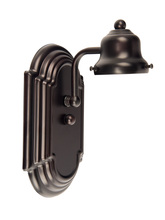 Jeremiah 11708OB1 - Racetrack 1 Light Arch Arm Wall Sconce in Oiled Bronze