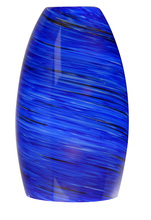 Jeremiah N336DBL - Design-A-Fixture Mini Pendant Glass in Sapphire Fury