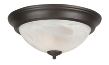 Jeremiah X213-OB - 2 Light Flushmount in Oiled Bronze