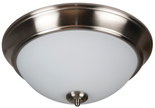 "Jeremiah XP13BNK-2W - Pro Builder 2 Light 13"" Flushmount in Brushed Polished Nickel"