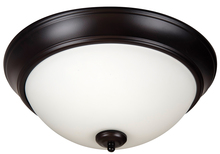 "Jeremiah XP13OB-2W - Pro Builder 2 Light 13"" Flushmount in Oiled Bronze"
