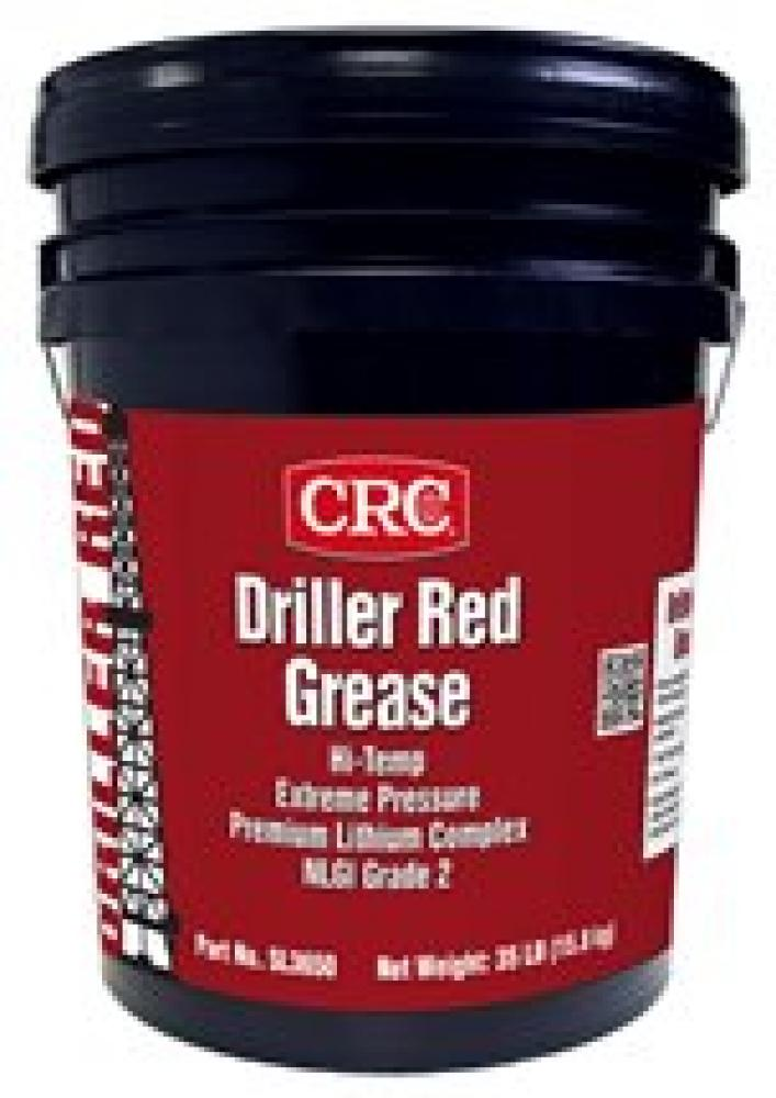 Driller Red EP Lithium Grease 35 LB : SL3650 | Dunker Electric