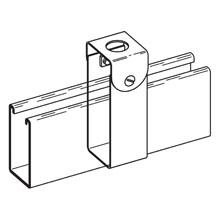 Eaton B-Line B241S-ZN - CHANNEL HANGER, 1/2-IN. CONDUIT, ZINC PLATED