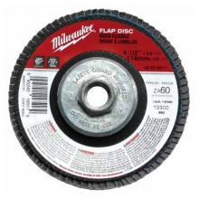 Milwaukee Electric Tool 48-80-8010 - FLAP DISC 4-1/2 X 5/8-11 36 GRIT