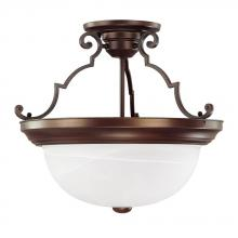 Capital 2717BB - 3 Light Semi-Flush