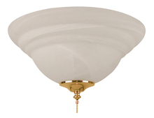 Ellington Fan ELK126-11 - 2 Light Bowl Fan Light Kit with Alabaster Glass