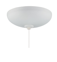 Ellington Fan LKE302WF-CFL - 3 Light Elegance Bowl Fan Light Kit in White Frost