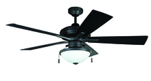 "Ellington Fan RVF52ABZ5 - Riverfront 52"" Ceiling Fan with Blades and Light in Aged Bronze Brushed"