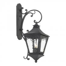 ELK Lighting 5711-C - Two Light Charcoal Wall Lantern