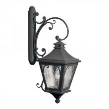 ELK Lighting 5712-C - Three Light Charcoal Wall Lantern