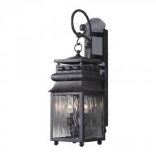 ELK Lighting 807-C - Two Light Charcoal Wall Lantern