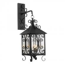 ELK Lighting 8151-E - Three Light Espresso Wall Lantern