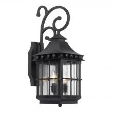 ELK Lighting 8450-E - Taos Outdoor Wall Lantern In Espresso Finish Wit
